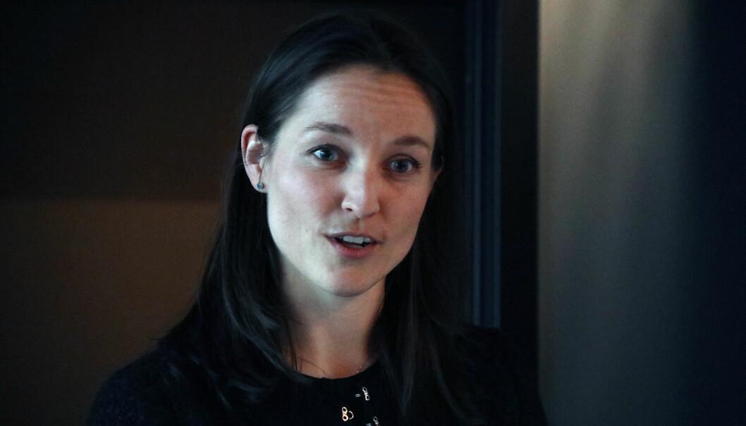 CLP-advokat Eline Thorsrud sitter i styret i #Hunspanderer og innledet under seminaret.