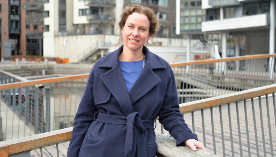 Høyere kvinneandel vil tvinge seg frem i moderne advokatfirmaer, mener Ida Gjessing. Foto: Nina Schmidt