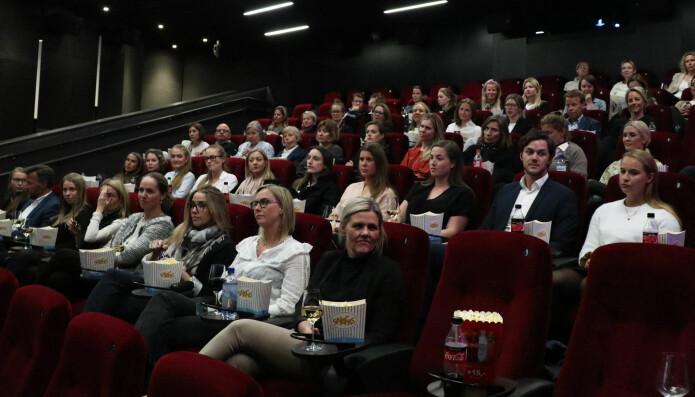 Både klienter og kolleger var invitert til å se filmen On the Basis of Sex onsdag kveld.