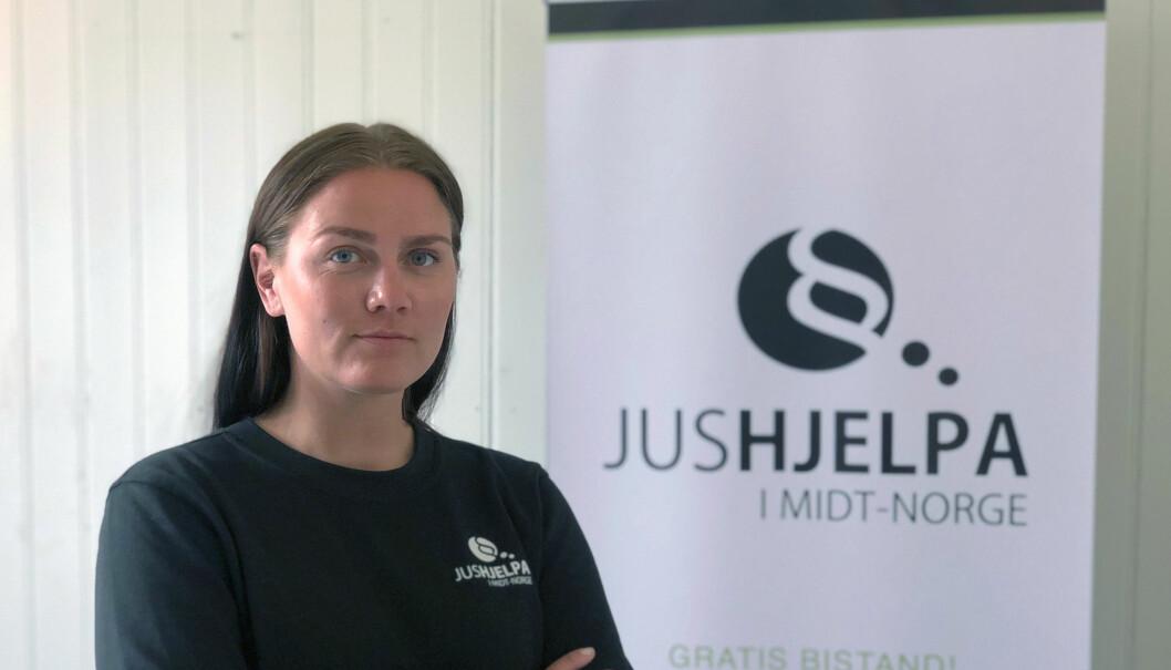 Jurist Hanne Ugland har til nå vært daglig leder Jushjelpa i Midt Norge. Nå er organisasjonen snart historie. Foto: Privat