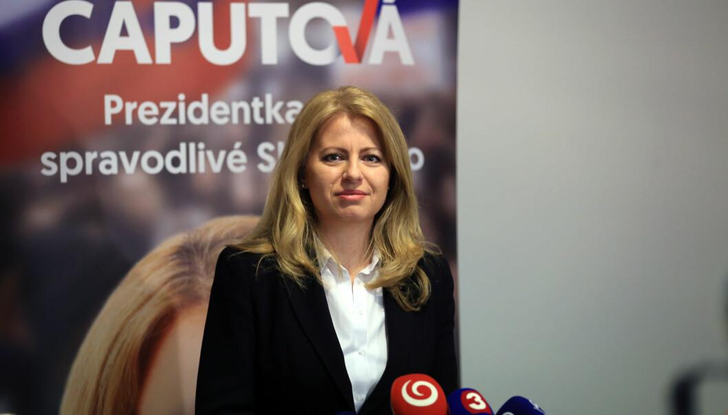 Antikorrupsjonsadvokaten Zuzana Caputova ble nylig valgt som president i Slovakia. Foto: WikiMedia