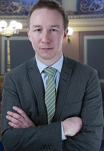 Jon Christian Fløysvik Nordrum, førsteamanuensis i klarspråk og lovgivningslære, UiO. Foto: UiO