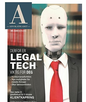 Les mer om hvorfor legal tech angår deg som advokat i det nyeste Advokatbladet som er ute nå!