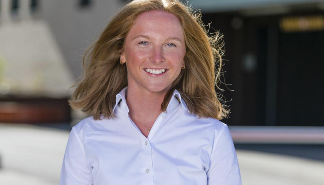 Transaksjonsadvokat Katinka Ranberg er en av Thommessens talentfulle advokater. Nå er firmaet nominert til Advokatforeningens talentpris. Foto: Geir Egil Skog