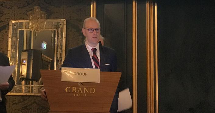 Thommessen-partner Henrik Hagberg er en av de mest sentrale bidragsyterne til konferansen.