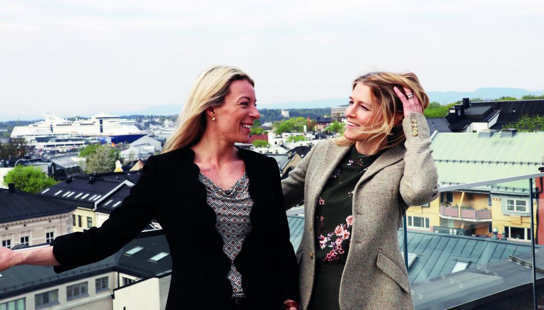 Ylva Cornelia Axelsen og Hillevi Torngren Myhre er begge partner i SANDS.