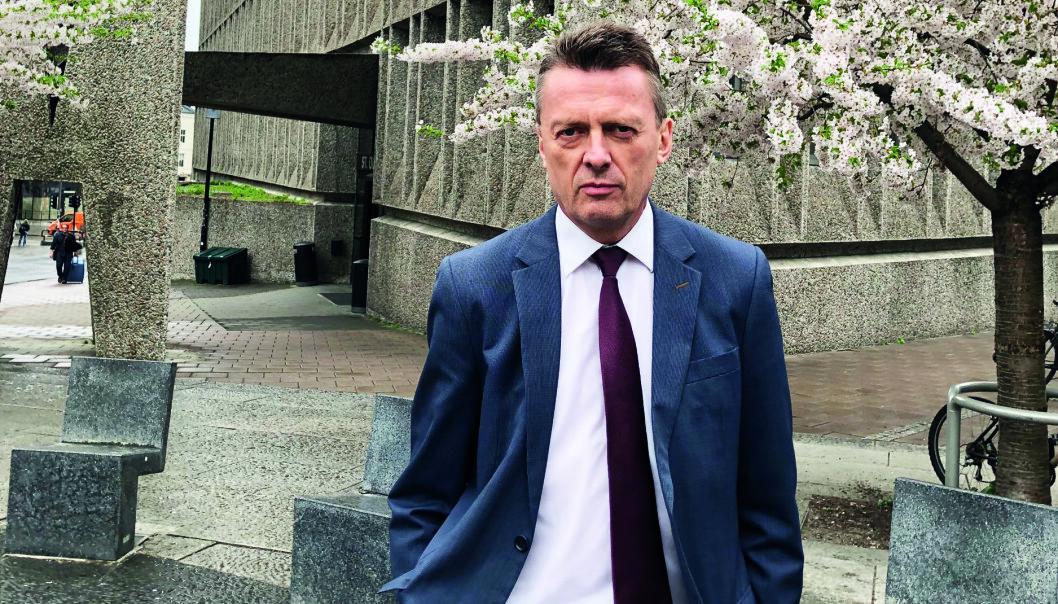 I 2005 sluttet Brynjulf Risnes som forsker i NUPI og begynte å jobbe som advokat. Han har aldri angret på valget. Foto: Nina Schmidt