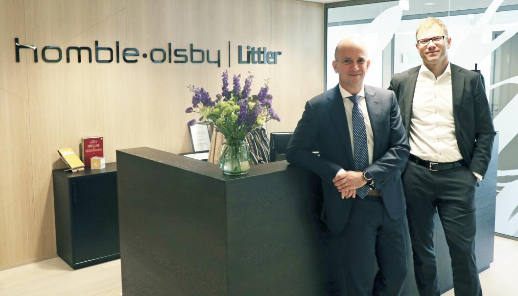 – Vi har til tider jobbet så det knaket, forteller advokatene Runar Homble og Ole Kristian Olsby, som holder til i Oslo sentrum.