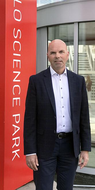 Erling Grimstads advokatfirma holder til i Forskningsparken i Oslo.