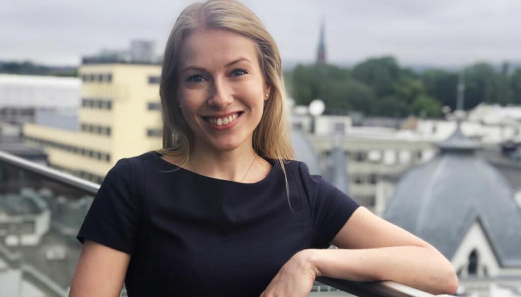 Cathrine B. Hetland startet advokatkarrièren i Arntzen de Besche, og har også lang inhouse-erfaring. Nå blir hun partner i landets største advokatfirma. Foto: Wikborg Rein