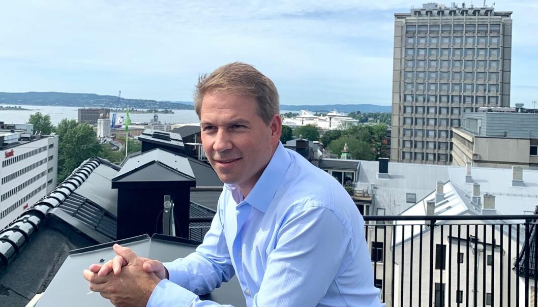 Internadvokat Jørgen G. Gran forlot Advokatfirmaet CLP til fordel for næringsmiddelbedriften Scandza. Foto: Privat