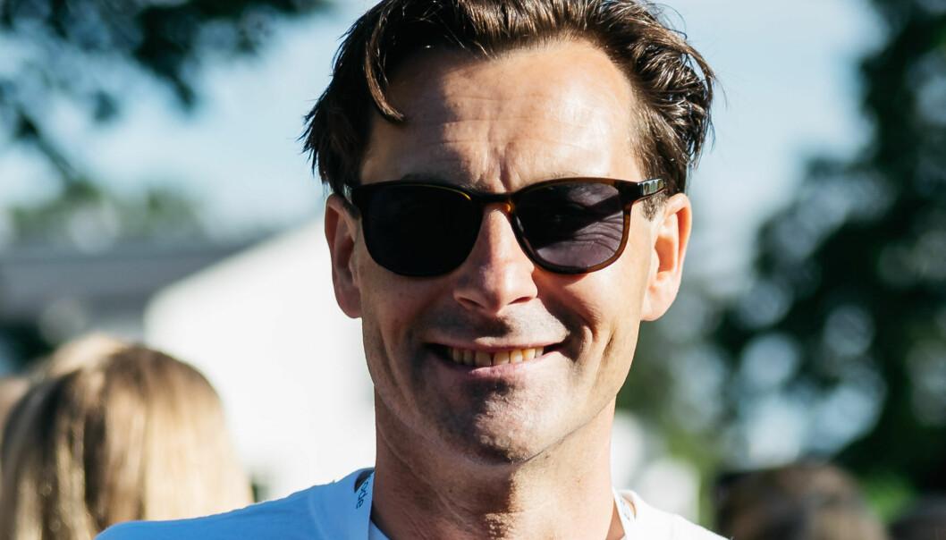 Thomas K. Svensen på BAHRfestival, BAHRs sommerfest i etterkant av internseminaret BAHRcode. Foto: Erik N.H. Krafft