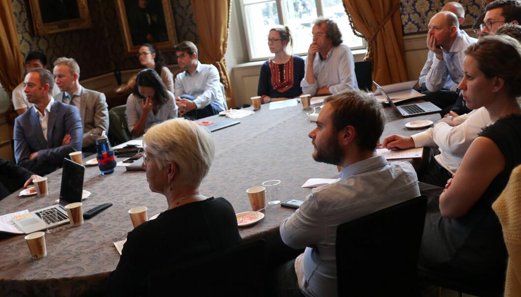 En rekke aktører fra næringslivet var i forrige uke invitert til et møte på Universitetet i Oslo for å diskutere den fremtidige jussutdannelsen.