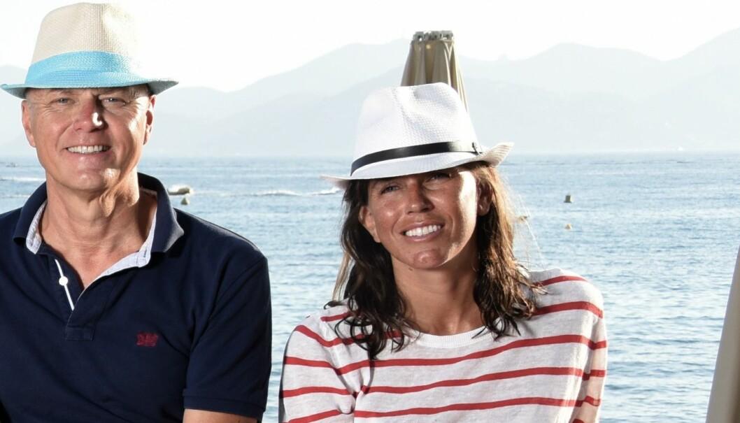 Skatteadvokat Bettina Banoun med ektemann og Glittertind-partner Anders Ryssdal. Foto: Privat