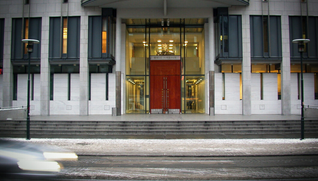 Vanligvis er det kø i sikkerhetskontrollen i Oslo tinghus om morgenen.