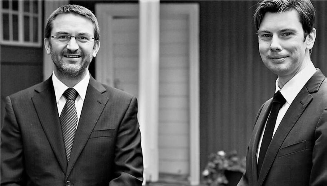 Advokatene Fredrik Neumann og Elling Dahl arrangerer åpent folkemøte om sammenslåing av tingretter og opprettelse av særdomstoler.