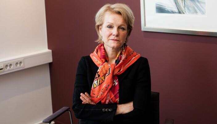 For å få innsyn i disiplinæravgjørelser, må man søke til Advokatforeningen. Her representert av generalsekretær Merete Smith.