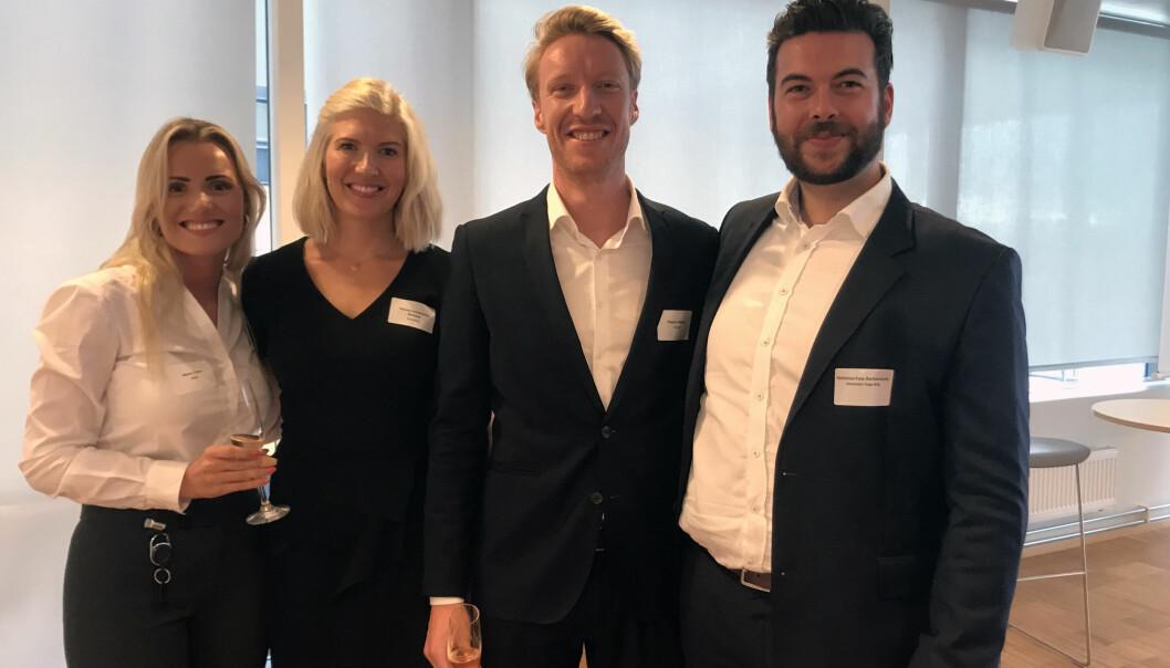 Maren Tveten, Theresa Schumacher Walberg, Magnus Melsom 0g Nicholas Foss Barbantonis utgjør gruppen som har stått i bresjen for det nye forumet.
