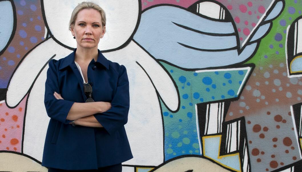 Advokat Maria Hessen Jacobsen er sterk kritisk til isolasjonsbruken i norske fengsler. Foto: Tor Erik H. Mathiesen