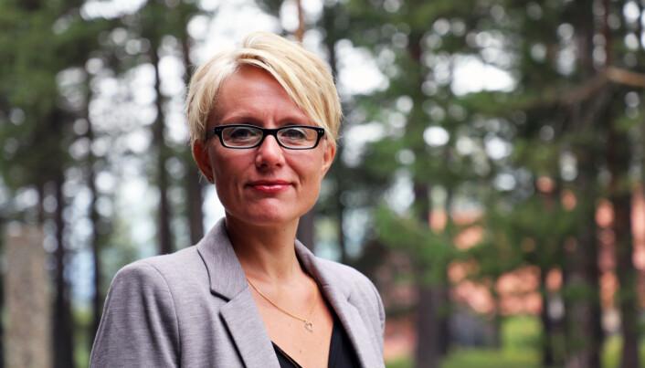 Wenche Rognås er prosjektleder for teknisk gjennomføring av kommune- og regionreformene i matrikkel og grunnbok i Kartverket. Foto: Synne Storvik