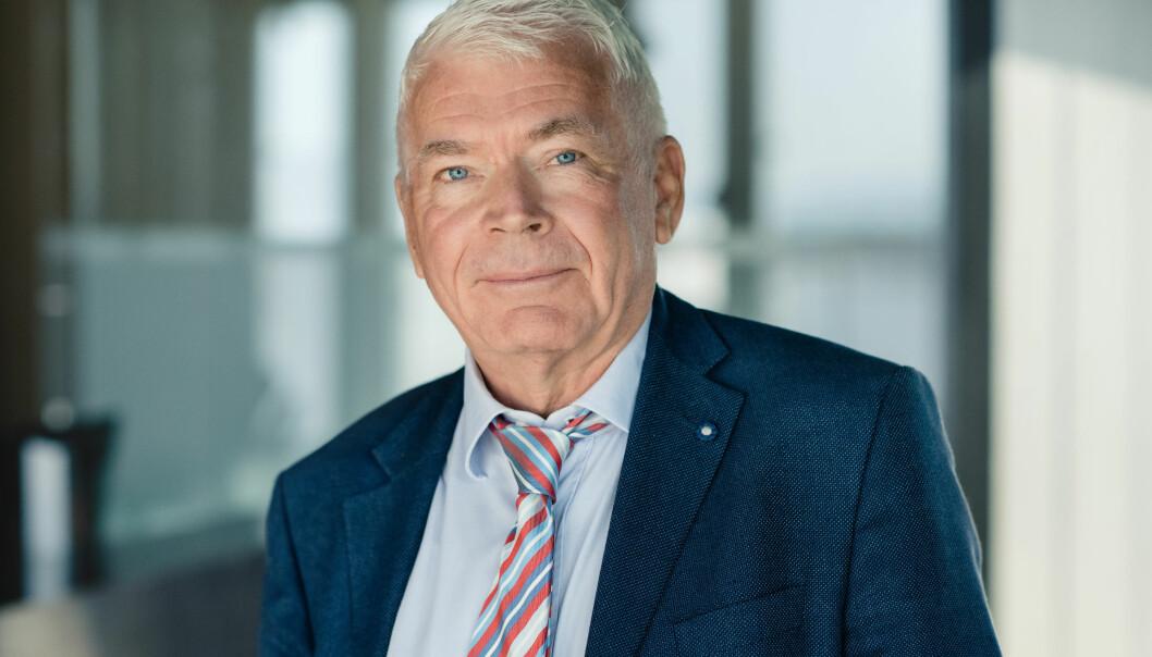 Etter en årrekke i Kluge, er Odd R. Tvedt nå klar for nye utfordringer i Ræder. Foto: Firmaet