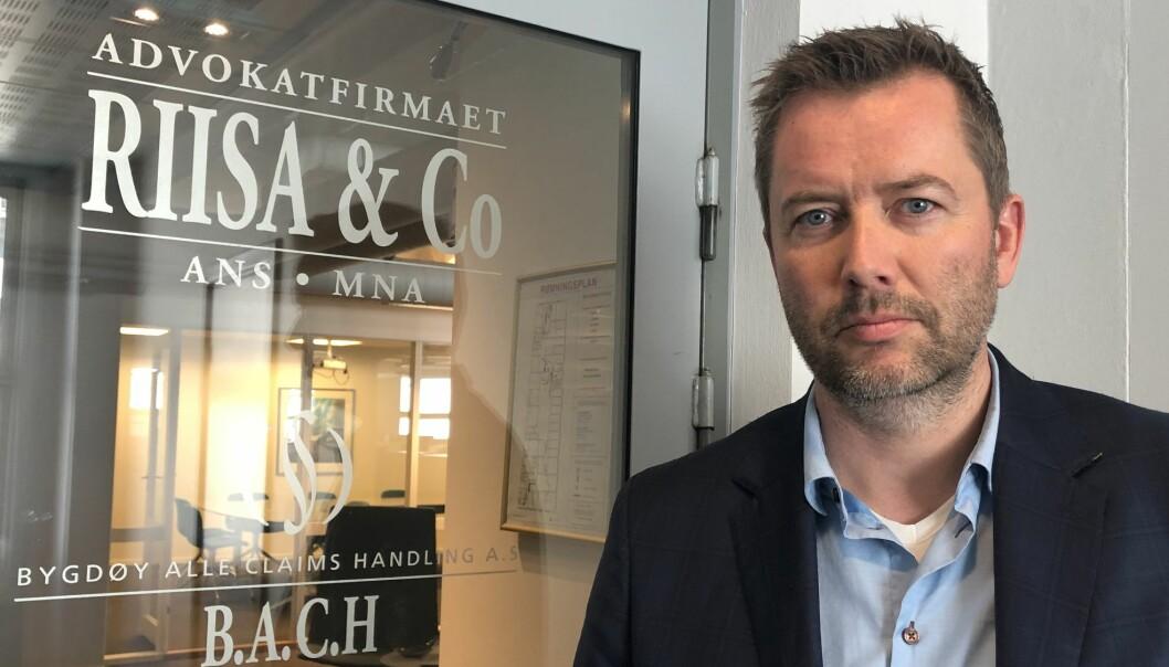 – Det fremmes en del krav mot advokater og deres forsikringsselskaper som aldri fører frem, forteller advokat Jørgen Svartebekk.