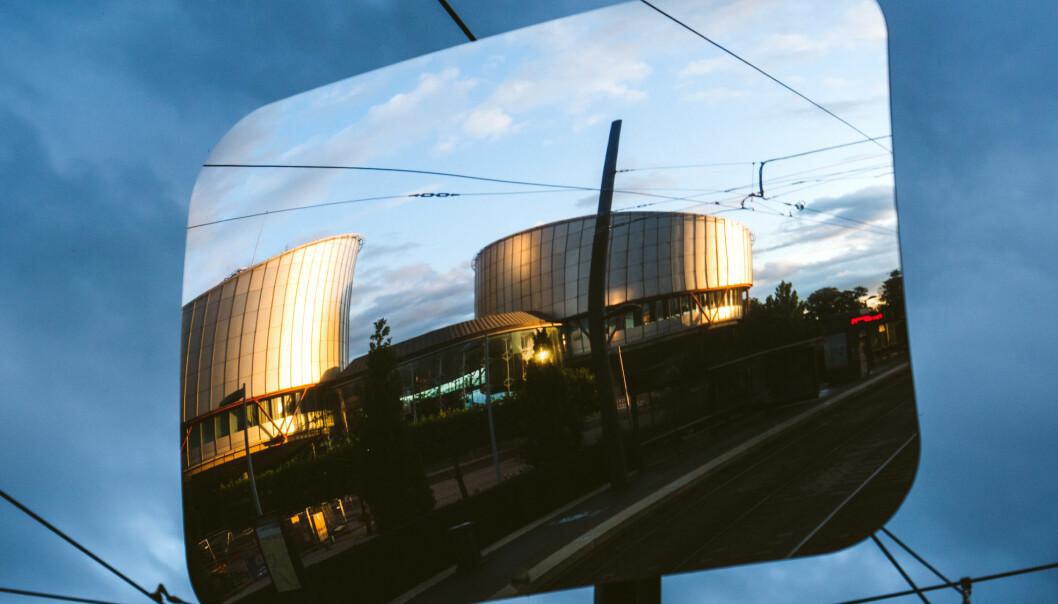 Menneskerettssdomstolen i Strasbourg. Foto Adrian Hancu, iStock