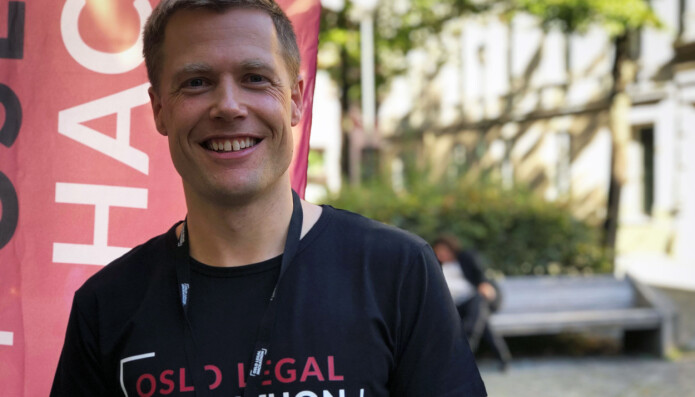 Wiersholm-partner Rune Opdahl tror selv han kan lære mye av et døgn på Oslo legal hackathon.
