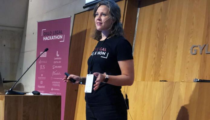 Merete Nygaard tror årets legal hackathon blir enda bedre enn i fjor.