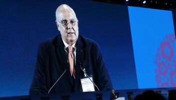 IBA-president Horacio Bernandes Veto.