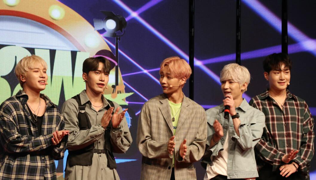 En rekke talentfulle k-popband bidro til underholdningen under velkomstfesten på årets IBA-konferanse. K-pop er sørkoreas egen musikksjanger.