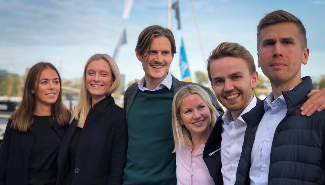 Hilde Fjærtoft Jansen, Maren Aurora Holen, Mikkel Østhagen Hamar, Ida Berg-Johnsen, Martin Hauger og Einar Lund Sørensen er initiativtakerne bak Grønt forum.