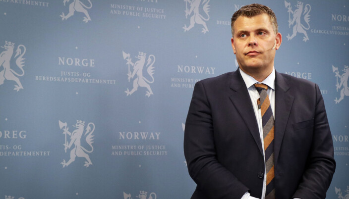Jøran Kallmyr var justisminister fra 29.mars 2019 til 24. januar 2020.