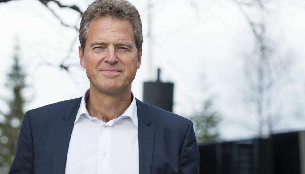 Advokatforeningens leder Jens Johan Hjort er alt annet enn fornøyd med forslaget til ny salærsats. Foto: Geir Egil Skog