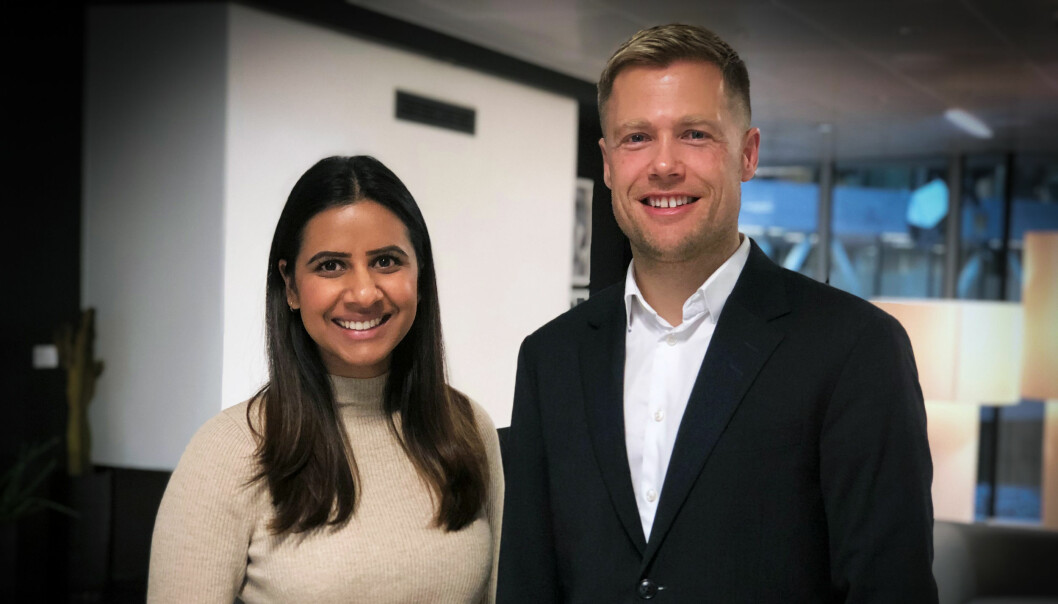 - Planen er at vi skal gjøre flere runder av Intrapreneur Intern, og vi satser på at pilotrunden blir suksess, sier Navneet Kaur Grewal og Rune Opdahl.