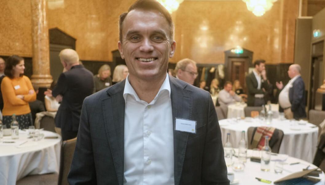 Thomas Rieber-Mohn er initiativtager til et nytt forum om IPR som nylig samlet bedrifter og advokater i Bergen. Foto: Torgeir Hågøy