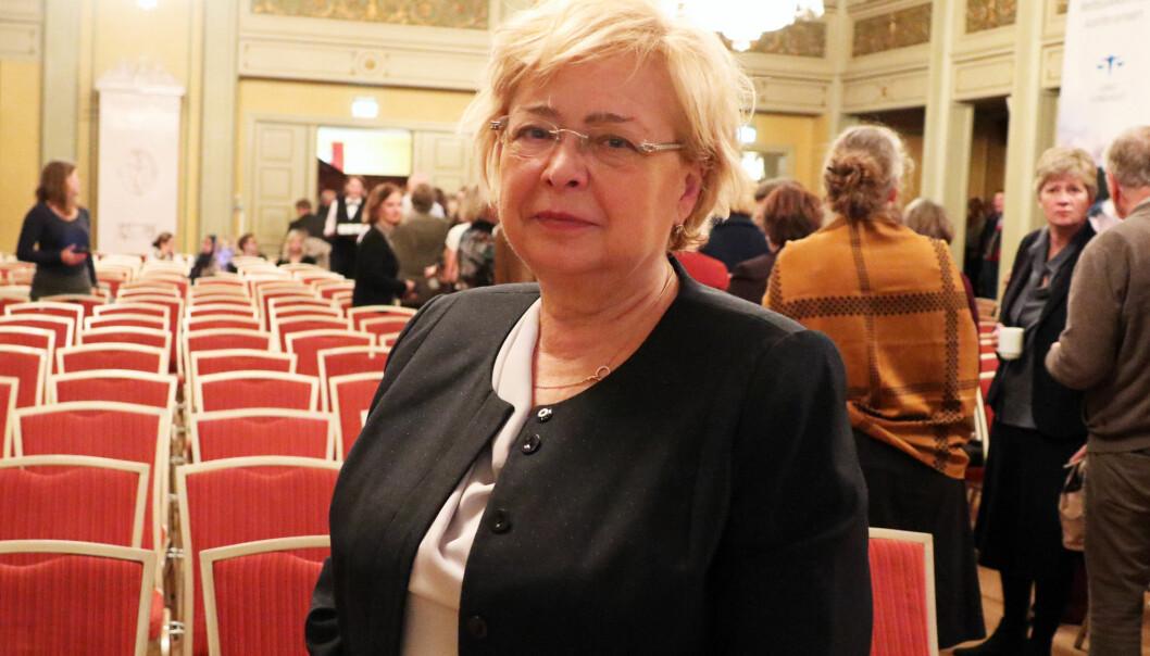 Malgorzata Gersdorf gav norske jurister en oppdatering på situasjonen i Polen.
