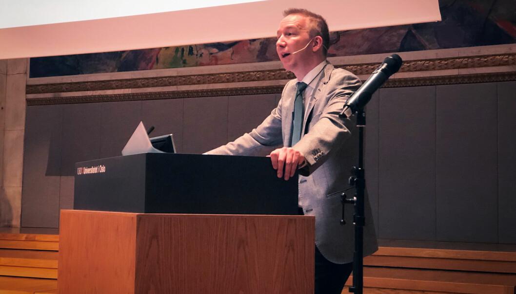 Jon Christian Fløysvik Nordrum er førsteamanuensis ved Institutt for offentlig rett ved UiO, hvor han blant annet er med i en forskningsgruppe for forvaltningsrett.