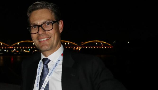 Wikborg Rein-partner Kaare Shetelig.
