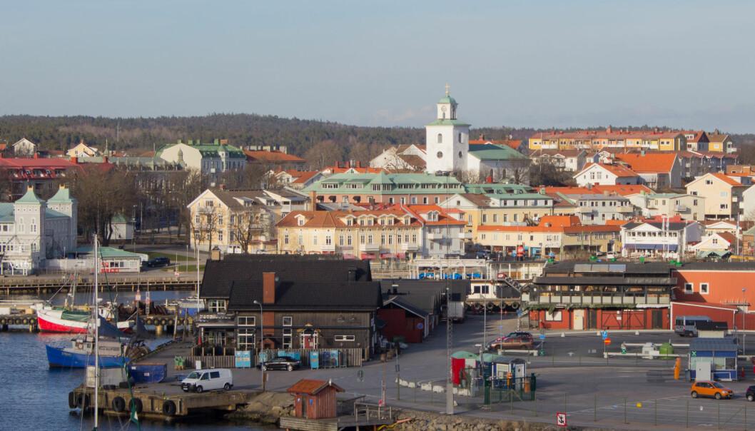 Mange reiser til Strømstad på dagstur for å handle. Brudd på reglene om å oppholde seg i Norge, mente NAV. Foto: Bphoto, Istockphoto
