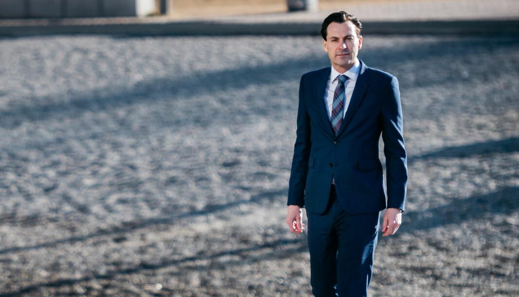 Thomas K. Svensen etterfulgte Morten Smørdal som managing partner i BAHR i fjor.