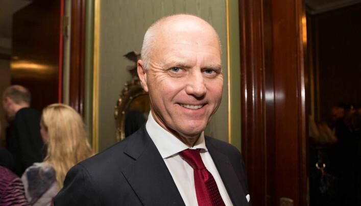 Anders Ryssdal var leder av Advokatforeningen fra 2004 til 2008. Her fotografert på et tidligere årstale-arrangement. Foto: Monica Kvaale