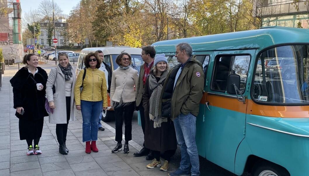 Styremedlemmer av Oslo krets besøkte nylig Polen på sin årlige studietur.