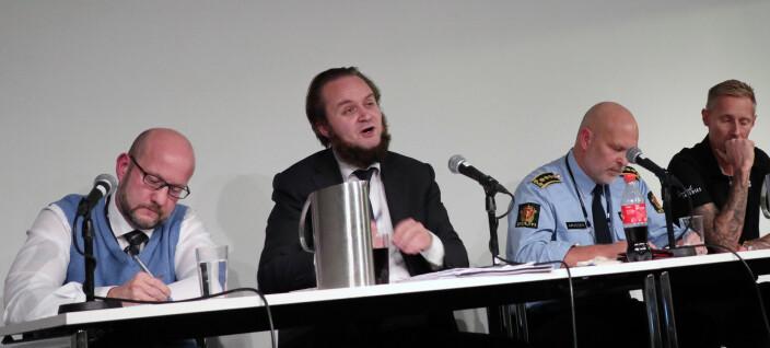 - Totalt uakseptabelt av politiet å begå kriminalitet for å ta kriminelle