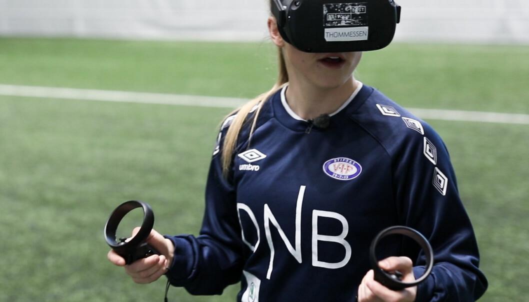 VR-brillene er utviklet for å styrke spillernes kognitive persepsjon.