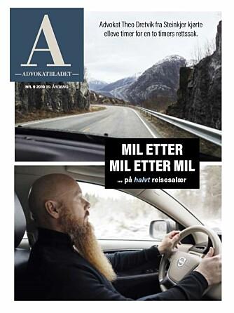 Les mer om utfordringene ved det halverte reisesalæret i Advokatbladets desemberutgave.