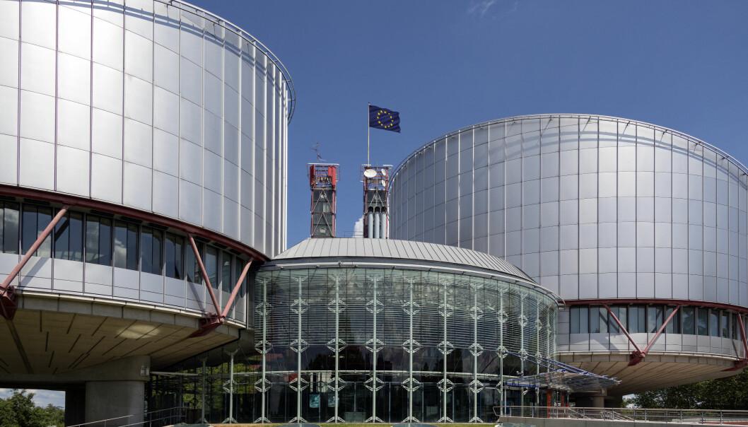 Den europeiske menneskerettighetsdomstolen i Strasbourg.