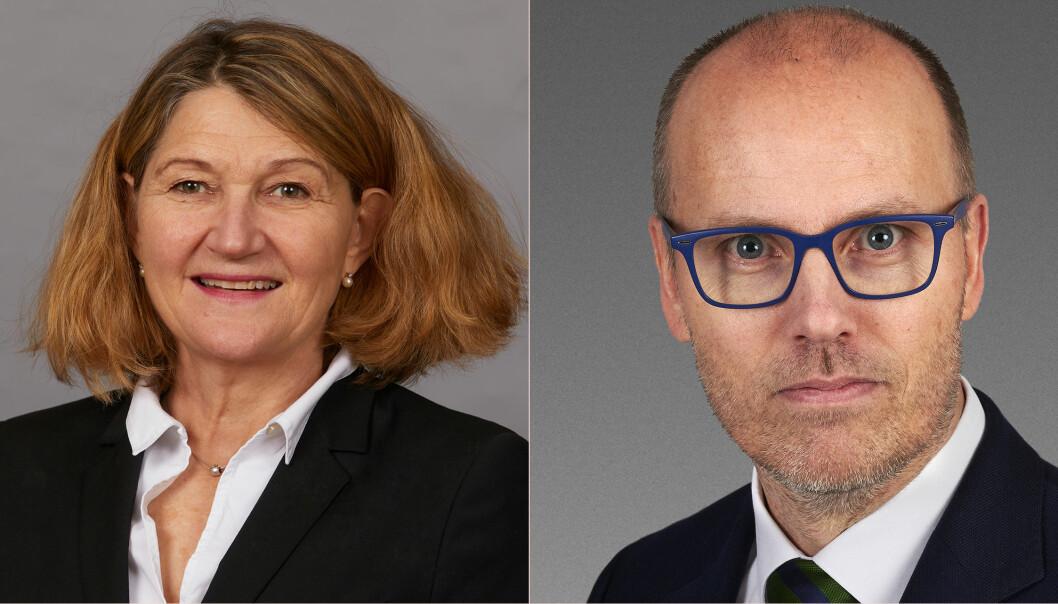 Susanne Munch Thore og Arild Dyngeland sitter begge i Advokatforeningens hovedstyre. Nå har begge fått nye partner-jobber.