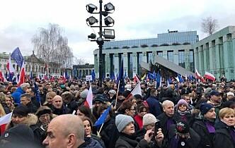 Norske advokater og dommere på plass i Warszawa for å marsjere for rettsikkerheten