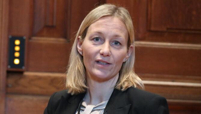 Kine Steinsvik (43) ble også utnevnt til ny dommer i Høyesterett i fjor. Hun var tidligere dommer i Borgarting lagmannsrett, og i 2018 fungerende riksmekler. Hun er den første dommeren i Høyesterett som er utdannet ved juridisk fakultet ved Universitetet i Tromsø.